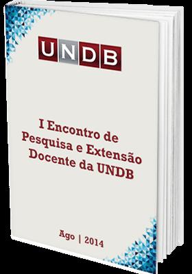 I Encontro de pesquisa e extensão docente da UNDB